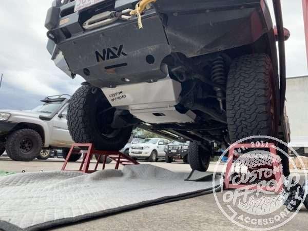 Hilux N70 2pce bash plates