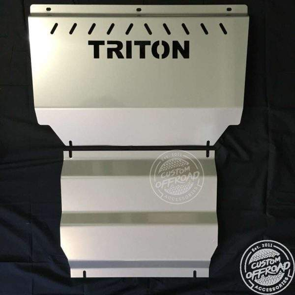 Mistsubishi Triton Bash Plate vertical view