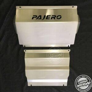 Pajero Sport QE Steel Bash Plate