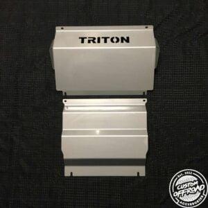 Mitsubishi Triton MQ - Front and Diff/Sump Plates 3