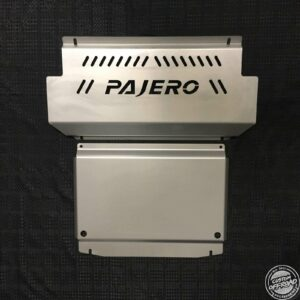 Mitsubishi Pajero NM to NX - Front and Diff/Sump Plate 1