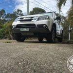 Izuzu MU-X 4WD with front & diff/sump plates