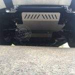 Isuzu D-Max bash plates fitted to vehicle