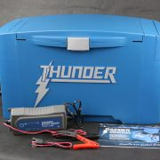 4x4 accessories - Close up of Thunder Weekender Battery Box features