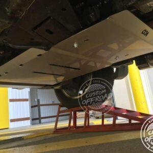 Fitted Mitsubishi Triton Mq Bash Plate transmission