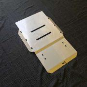 Pajero Sport QE Bash Plate Transmission 1