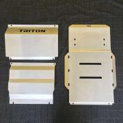 Mitsubishi Triton Mq 3 piece Bash Plate Set