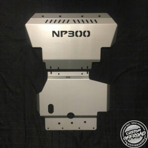 Nissan Navara NP300 D23 Front and Diff/Sump Bash Plate
