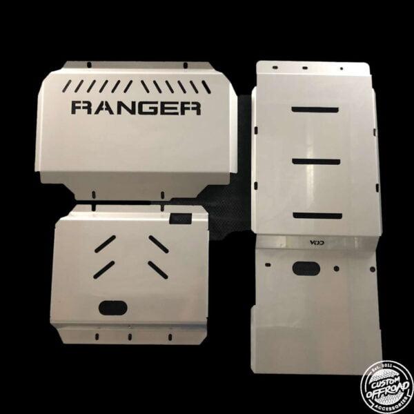 Ranger 3pc Bash Plate Set
