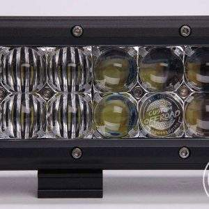 Close up view of 17 inch Dual Row led light bar