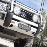 30-inch-led-light-bar and spot/combo lights fitted to vehicle