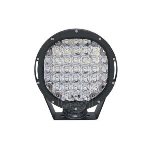 Front view of 9 inch 140w led driving lights