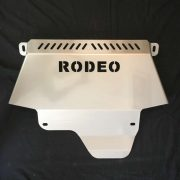 Holden Rodeo Steel Bash Plate, vertical view