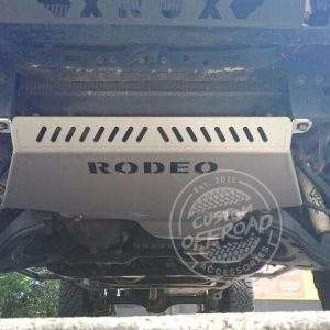 Holden Rodeo RA Front and Diff/Sump Bash Plates 2 Piece Set Fitted Installed