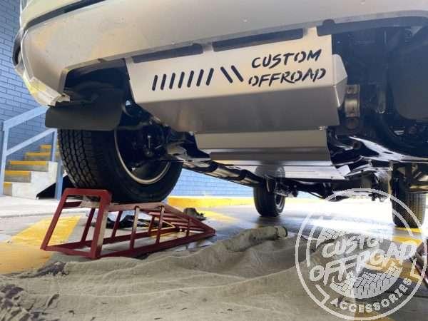 Pajero Sport QE QF Bash Plates Underbody Protection