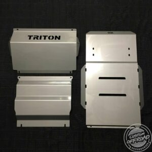 Mitsubishi Triton MQ Front, Diff/Sump and Transmission Bash Plates