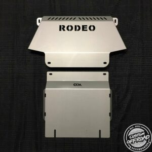 Holden Rodeo RA Front and Diff/Sump Plates 2 Piece Set Bash Plate