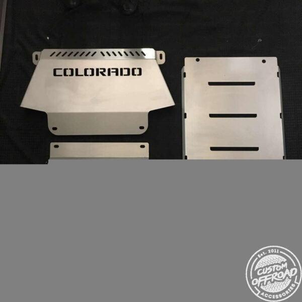 Holden RC Colorado 2006 - 2011 Underbody Protection Bash Plates 2