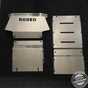 Holden Rodeo RA Front and Diff/Sump 3 Piece Bash Plate Set 3