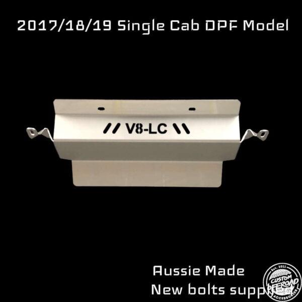79 Series Single Cab DPF Bash Plate